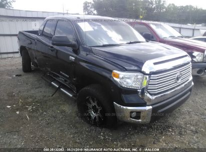 Salvage 2015 TOYOTA TUNDRA for sale