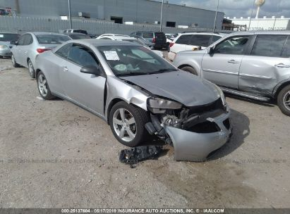 Salvage 2007 PONTIAC G6 for sale