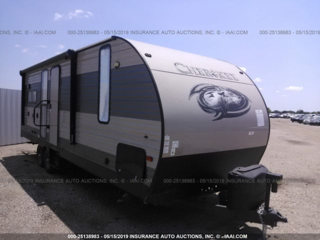 click here to view 2017 FOREST RVR CHEROKEE 244JR at IBIDSAFELY