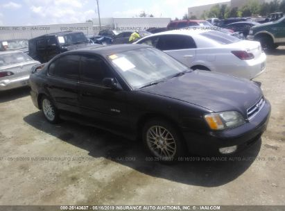Salvage 2001 SUBARU LEGACY for sale