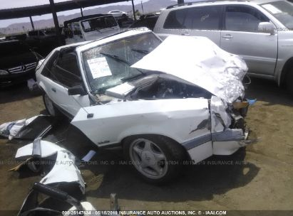 Salvage 1986 FORD MUSTANG for sale