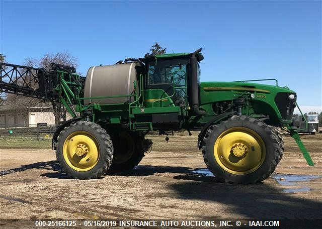 click here to view 2009 JOHN DEERE 4830 SPRAYER at IBIDSAFELY