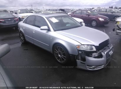 Salvage 2007 AUDI A4 for sale