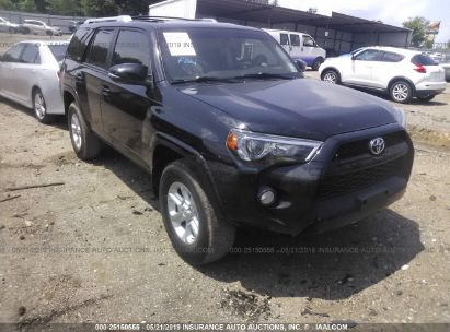 Salvage 2016 TOYOTA 4RUNNER for sale