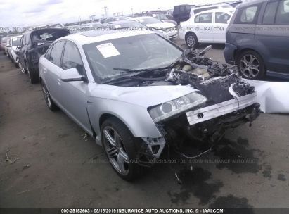 Salvage 2010 AUDI A6 for sale