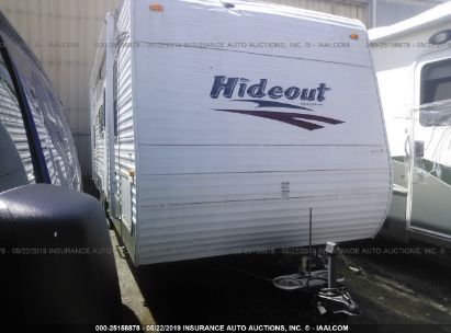 Salvage 2010 HORNET H127DBS10 for sale