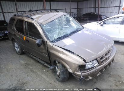 Salvage 2001 ISUZU RODEO for sale