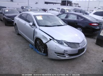 Salvage 2014 LINCOLN MKZ for sale