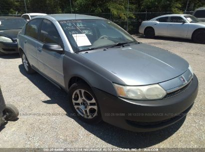 Salvage 2003 SATURN ION for sale
