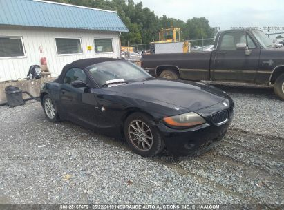 Salvage 2003 BMW Z4 for sale