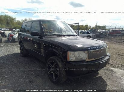 Salvage 2007 LAND ROVER RANGE ROVER for sale