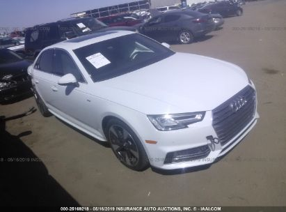 Salvage 2017 AUDI A4 for sale