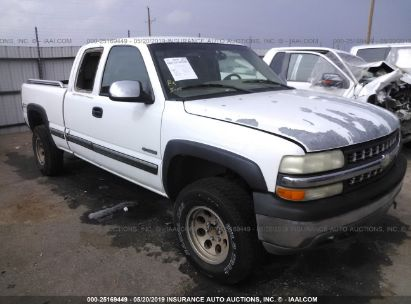 Salvage 2002 CHEVROLET SILVERADO for sale