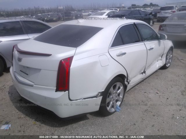 Salvage Title 2016 Cadillac ATS 2 5L For Sale in Houston TX