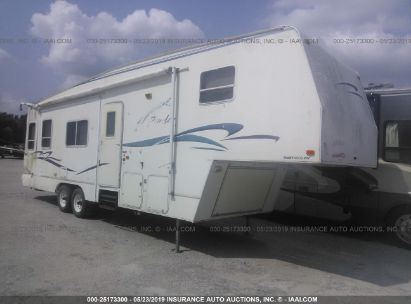 Salvage 2000 FLEETWOOD TRAVEL TRAILER for sale
