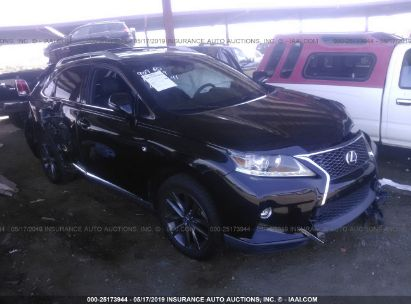 Salvage 2015 LEXUS RX for sale