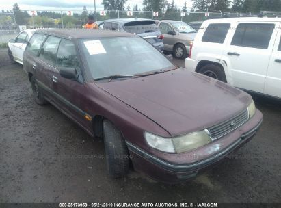 Salvage 1993 SUBARU LEGACY for sale