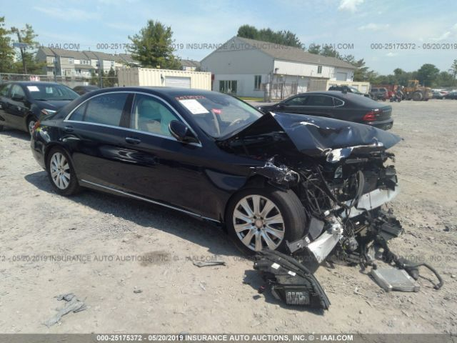 2014 MERCEDES-BENZ S - Small image. Stock# 25175372