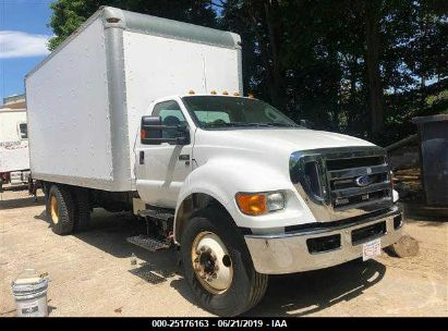 Salvage 2013 FORD F650 for sale