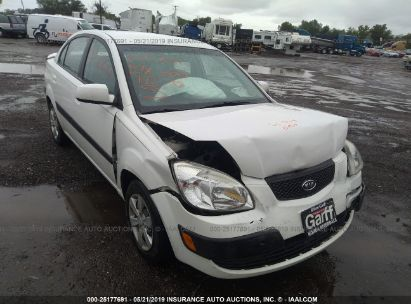 Salvage 2009 KIA RIO for sale