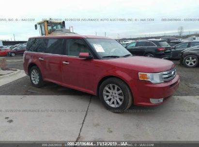 Salvage 2010 FORD FLEX for sale