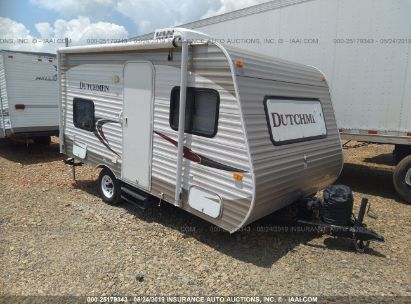 Salvage 2012 DUTCHMEN TRAVEL TRAILER for sale