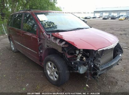Salvage 2010 CHRYSLER TOWN & COUNTRY for sale