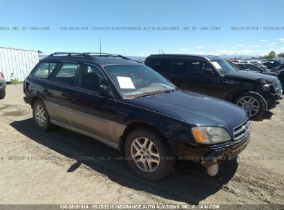 Salvage 2000 SUBARU LEGACY for sale
