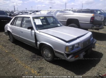 Salvage 1988 PLYMOUTH CARAVELLE for sale