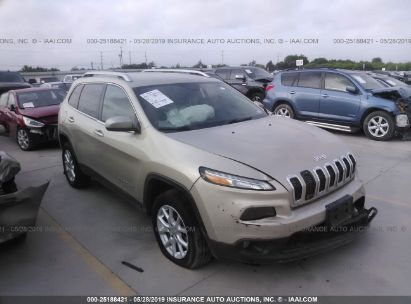 Salvage 2014 JEEP CHEROKEE for sale