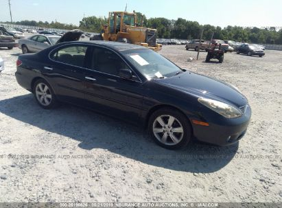 Salvage 2005 LEXUS ES for sale