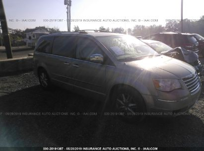 Salvage 2008 CHRYSLER TOWN & COUNTRY for sale