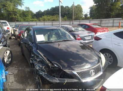 Salvage 2009 LEXUS IS for sale