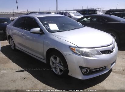 Salvage 2014 TOYOTA CAMRY for sale