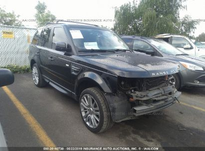 Salvage 2011 LAND ROVER RANGE ROVER SPORT for sale
