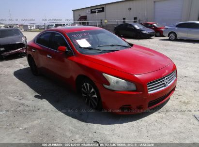 Salvage 2009 NISSAN MAXIMA for sale