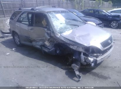 Salvage 2000 LEXUS RX for sale