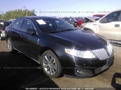 Salvage 2009 LINCOLN MKS for sale
