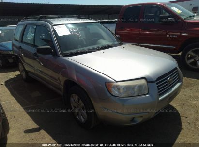 Salvage 2008 SUBARU FORESTER for sale