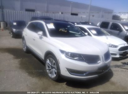 Salvage 2018 LINCOLN MKX for sale