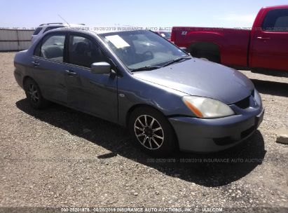 Salvage 2005 MITSUBISHI LANCER for sale