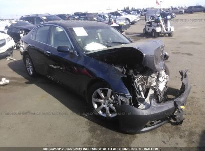 Salvage 2006 INFINITI G35 for sale