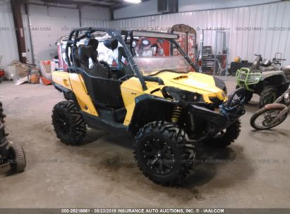 Salvage 2016 CAN-AM COMMANDER for sale