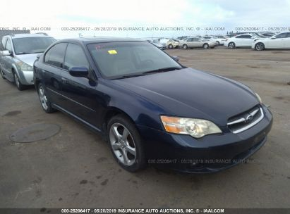 Salvage 2006 SUBARU LEGACY for sale