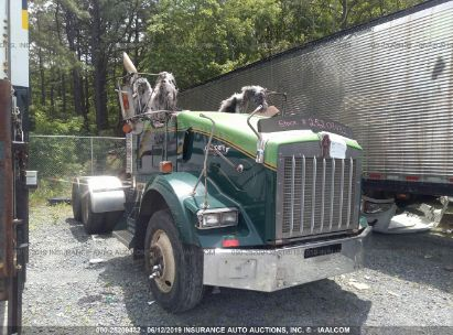 Salvage 2007 KENWORTH T800 for sale