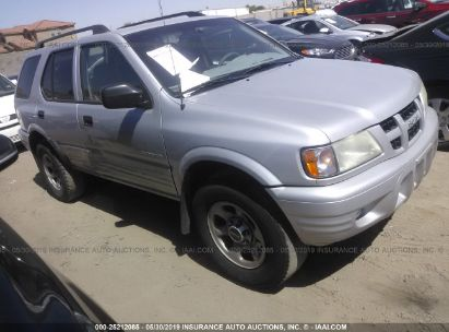 Salvage 2003 ISUZU RODEO for sale