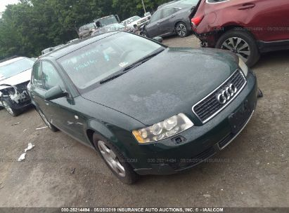 Salvage 2003 AUDI A4 for sale