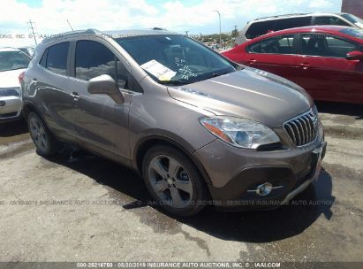 Salvage 2013 BUICK ENCORE for sale