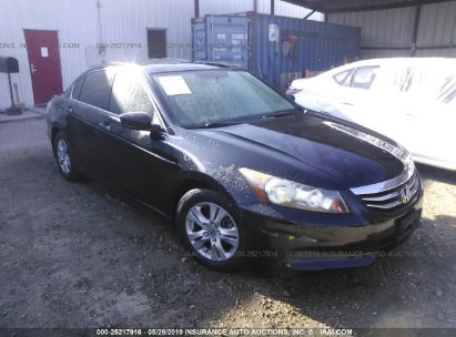 Salvage 2012 HONDA ACCORD for sale