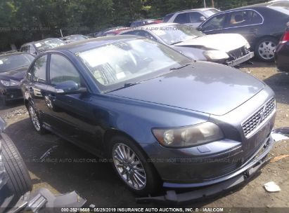 Salvage 2007 VOLVO S40 for sale